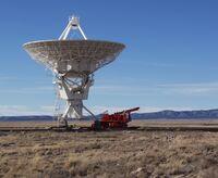 Very Large Array Antenna & Transporter, 20 December 2003