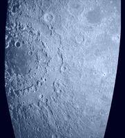 Radar Image of Orientale Basin
