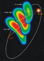 Motion of the Colliding-wind Region in WR140