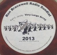 Bracewell Sundial Central Disk