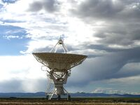 Very Large Array Antenna, July 2004