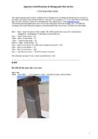 Signature Identifications & Photographs Pier by Pier