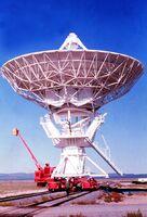 Very Large Array Antenna on Transporter