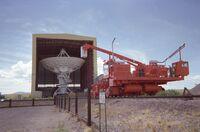 Very Large Array Antenna & Transporter, 18 July 2004