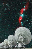 Very Large Array & Radio Galaxy 3C31