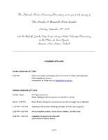 Bracewell Sundial Dedication Invitation