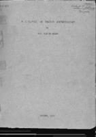 A Course in Radio Astronomy, Hendrik C. van de Hulst, 1951