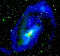 Atomic Gas in the Merging System NGC 520