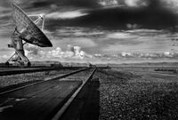 Very Large Array Tracks & Dishes, August 2002