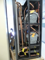 Installation of new AC systems for Charlottesville computer room, March 2010