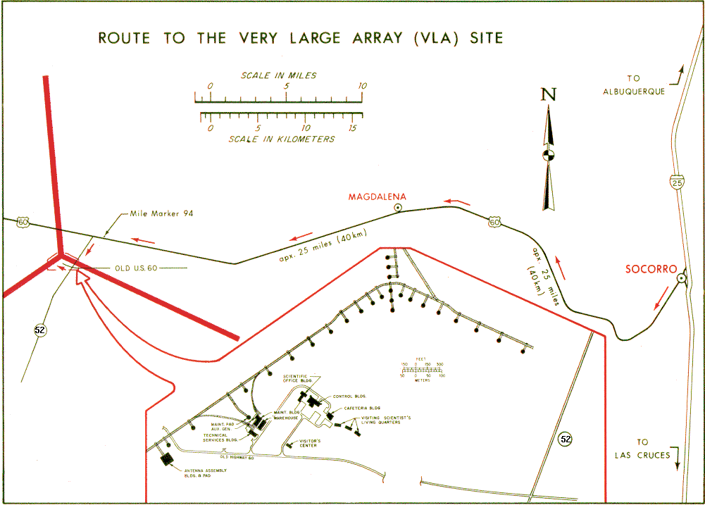 for a more detailed map of the route from socorro to the vla