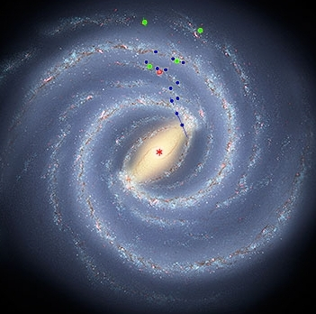 Artist's conception of Milky Way