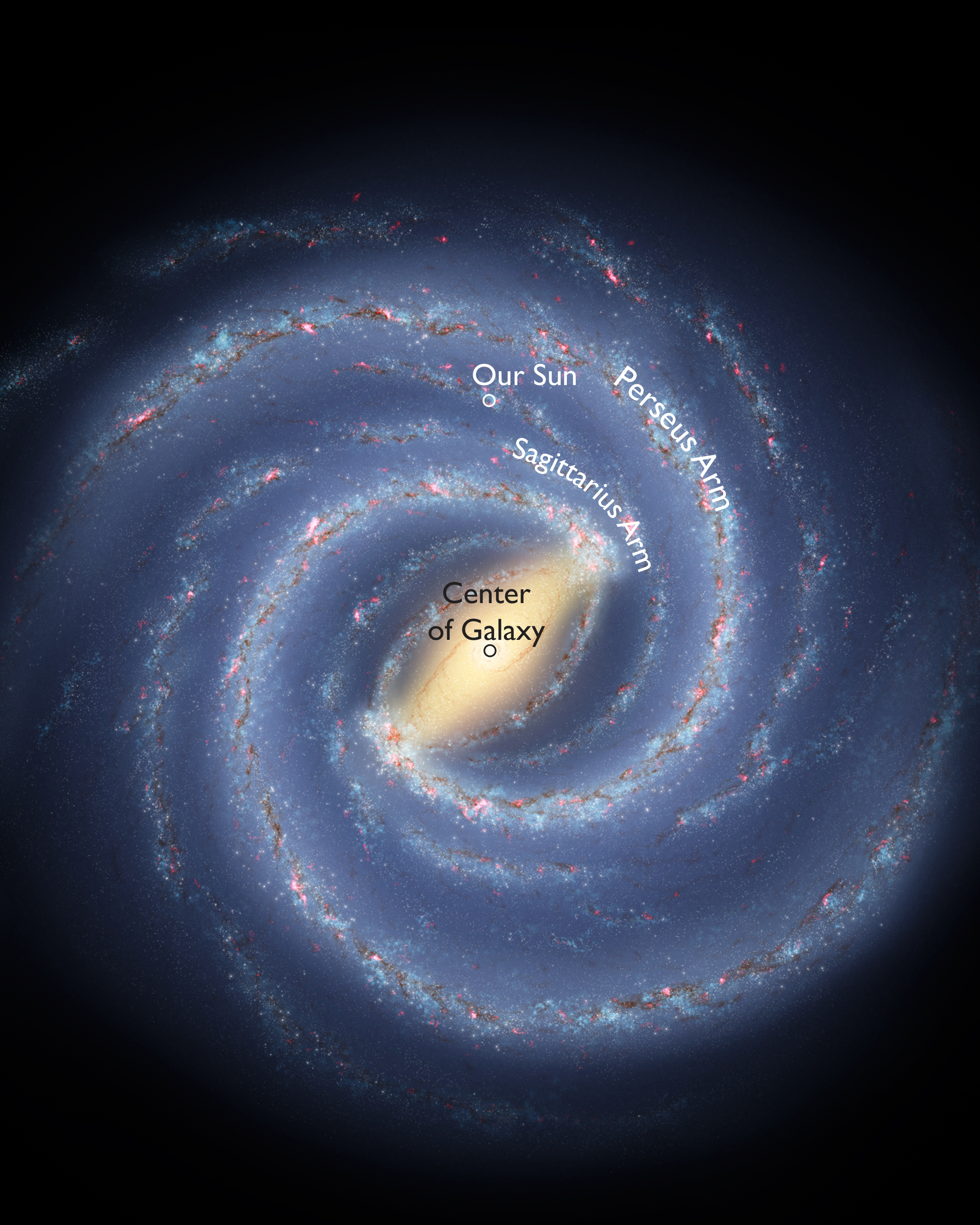 Earths Milky Way Neighborhood Gets More Respectdivdiv
